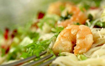 Shrimps Salat