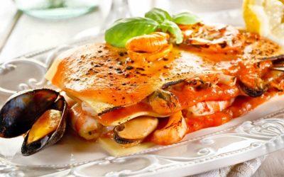 Meeresfrüchte- Lasagne