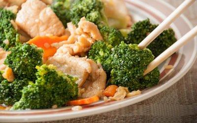 Hähnchenbrust mit Broccoli