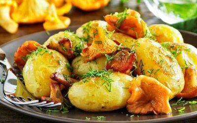 Pfifferling Kartoffel Pfanne
