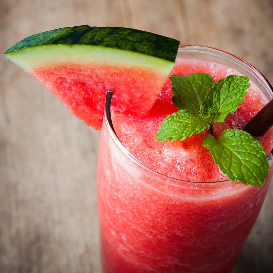 Erfrischender-Wassermelonen-Minz-Zimt-Smoothie