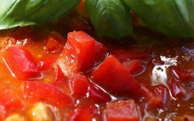 Tomaten Paprika Suppe