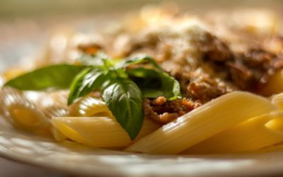 Penne Rigarte mit Sauce Bolognese