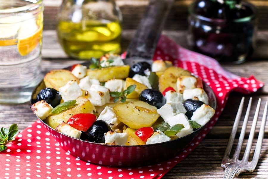 Bratkartoffeln-mit-griechischen-Touch