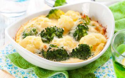 Broccoli Blumenkohl Gratin