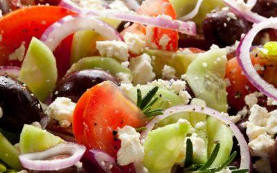 Griechischer Salat -lecker und leicht!