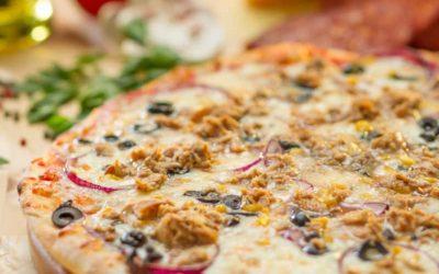 Thunfisch Pizza
