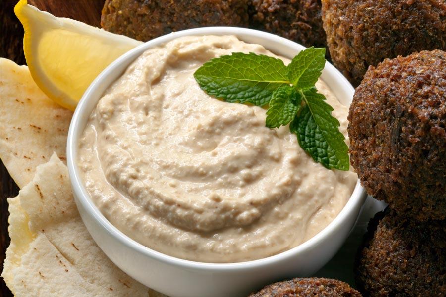 Falafel-mit-Hummus